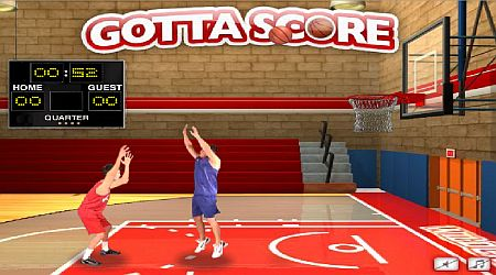 Game's screenshot - Gotta Score