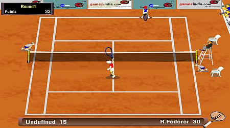 Game's screenshot - Grand Slam Tennis