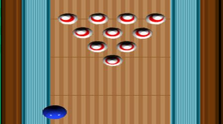 Game's screenshot - Grey Olltwits Bowling Game