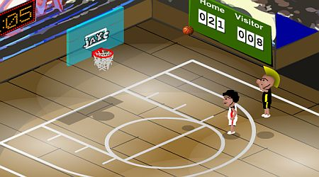 Game's screenshot - Hard Court