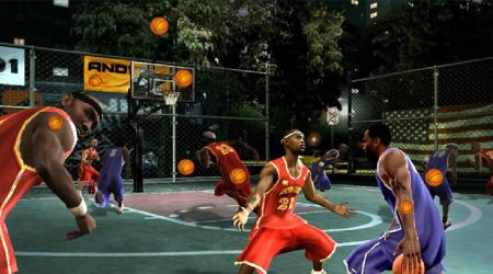 Game's screenshot - Hidden Basketball