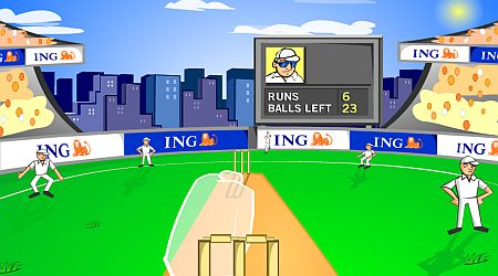 Game's screenshot - Hit The Sign