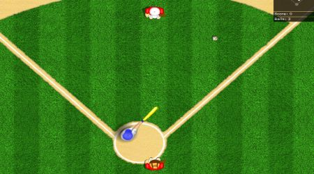 Game's screenshot - Homerun Hero
