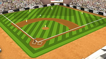 Game's screenshot - Homerun Mania