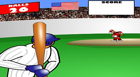 Game's screenshot - Homerun Rally