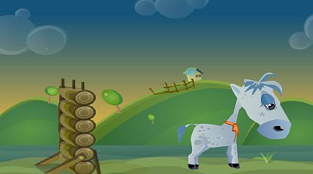 Game's screenshot - Horsey Racing