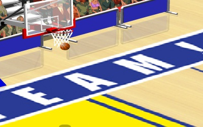 Game's screenshot - Hotshot Hoops
