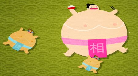 Game's screenshot - Hungry Sumo