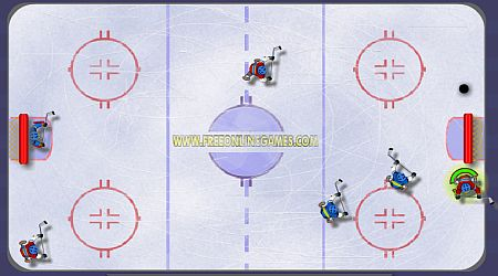Game's screenshot - Ice Hockey