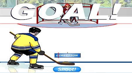Game's screenshot - Ice Hockey Challenge