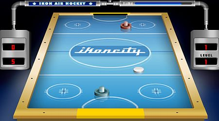 Game's screenshot - Ikon Air Hockey