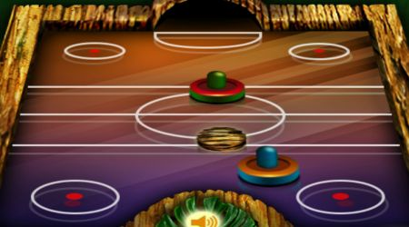 Game's screenshot - Jungle Air Hockey