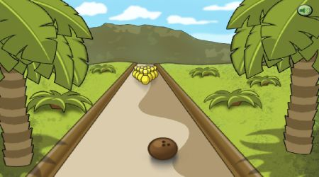 Game's screenshot - Jungle Bowling