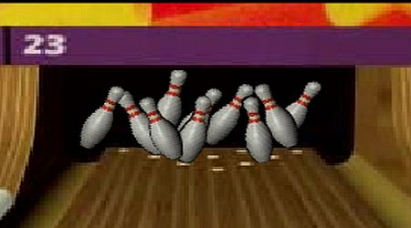Game's screenshot - King Pin Bowling