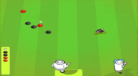Game's screenshot - Lawn Bowling
