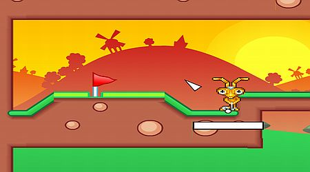 Game's screenshot - Mani Golf