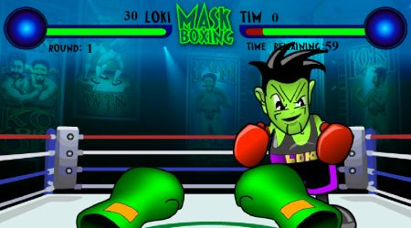 Game's screenshot - Mask Boxing