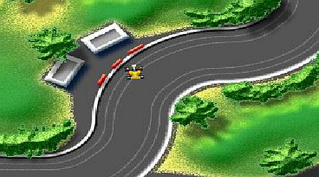 Game's screenshot - Micro Racers