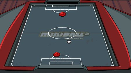 Game's screenshot - Miniball Air Hockey