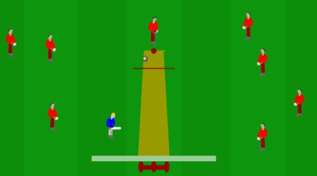 Game's screenshot - Mini Cricket