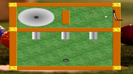Game's screenshot - Mini Golf Arcade