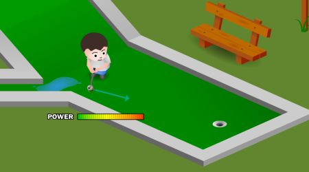 Game's screenshot - Mini Golf Front 9