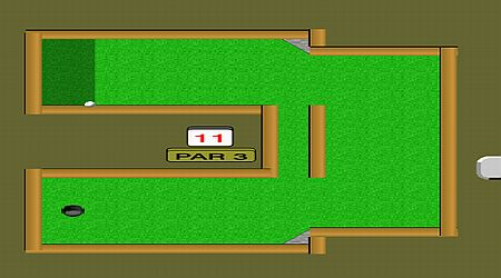 Game's screenshot - Mini-Putt