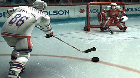 Game's screenshot - Molson Pro Hockey