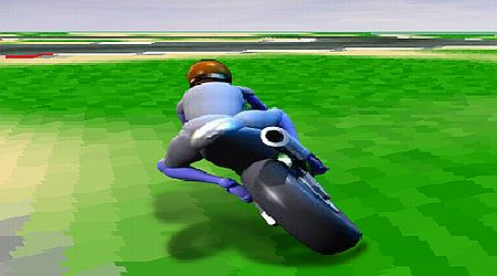 Game's screenshot - Motorcycle Racer