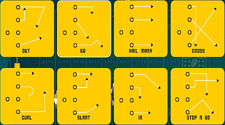 Game's screenshot - NFL Rush 2 Minute Drill