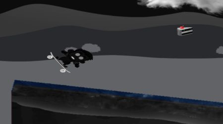 Game's screenshot - Night Skater