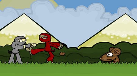 Game's screenshot - Ninja Golf