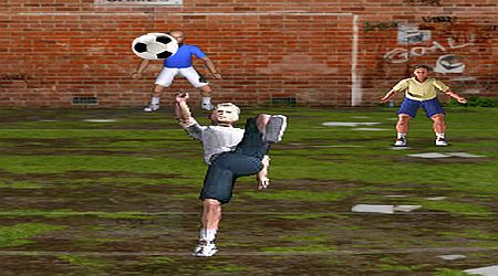 Game's screenshot - Overhead Kick Champion