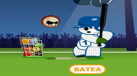 Game's screenshot - Panda Baseball