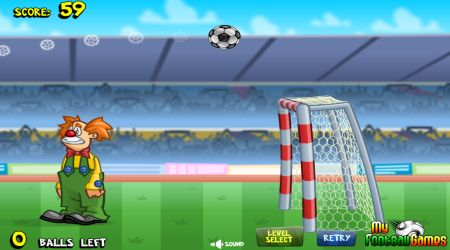 Game's screenshot - Penalty