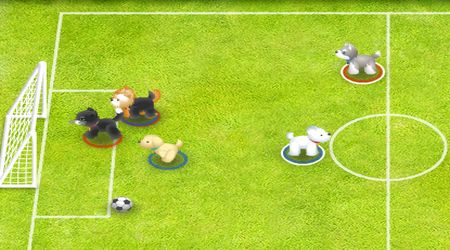 Game's screenshot - Pet Soccer