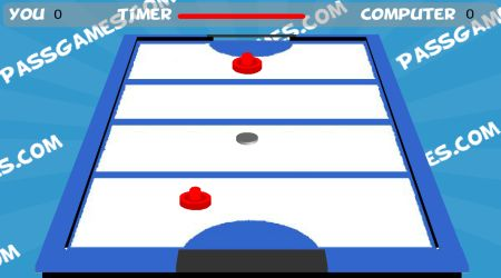 Game's screenshot - PG Air Hockey