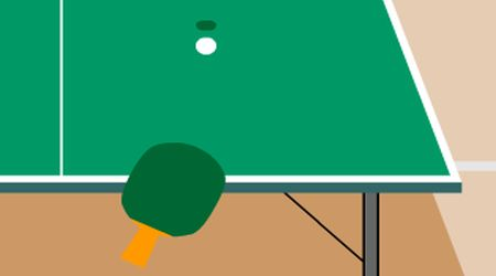 Game's screenshot - Ping Pong 3D