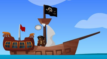 Game's screenshot - Pirate Golf Adventure