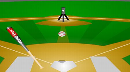 Game's screenshot - Pitching Machine