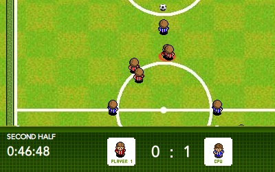 Game's screenshot - Pixel Kick