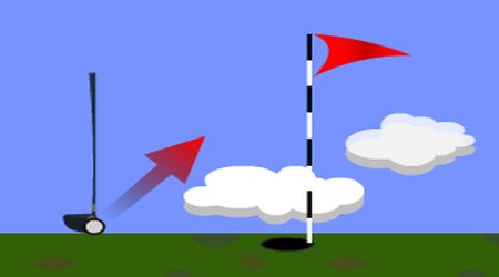 Game's screenshot - Power Golf