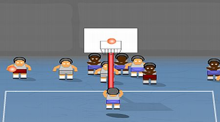 Game's screenshot - Prison Basketball