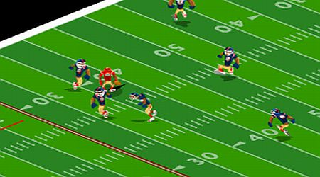 Game's screenshot - Pro Quarterback