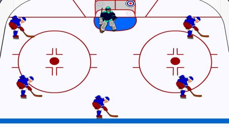 Game's screenshot - Puck Position