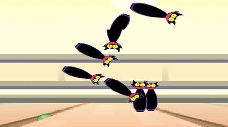 Game's screenshot - Puyo Bowling