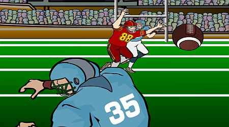 Game's screenshot - Quarterback Challenge