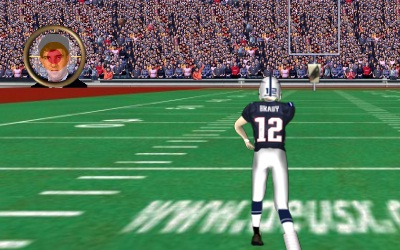 Game's screenshot - Quarterback Training
