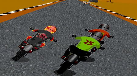 Game's screenshot - Race