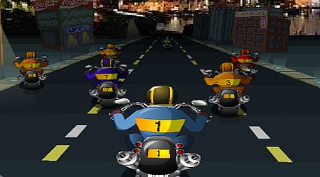 Game's screenshot - Race Choppers
